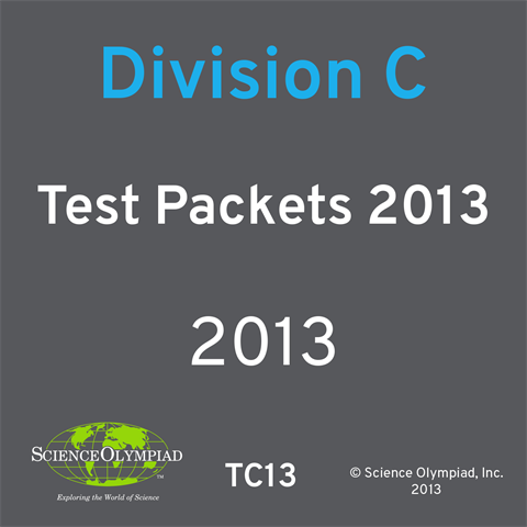 Test Packets 2013- Division C