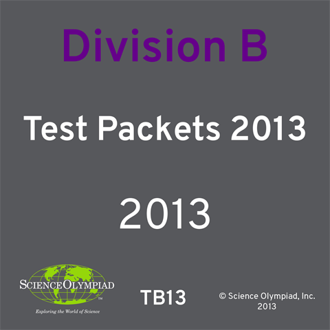 Test Packet 2013 Division B