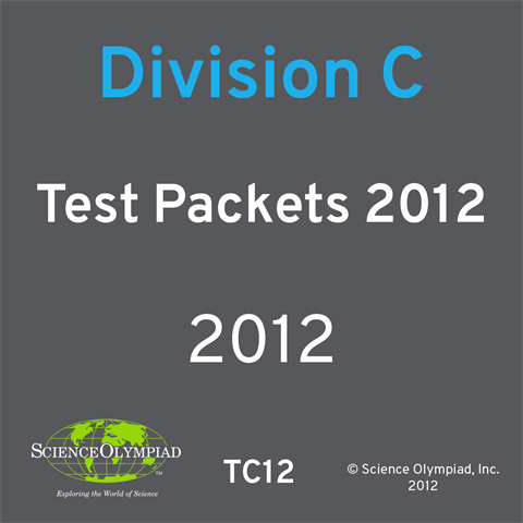 Test Packet 2012 Division C