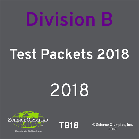 Test Packet 2018 Division B