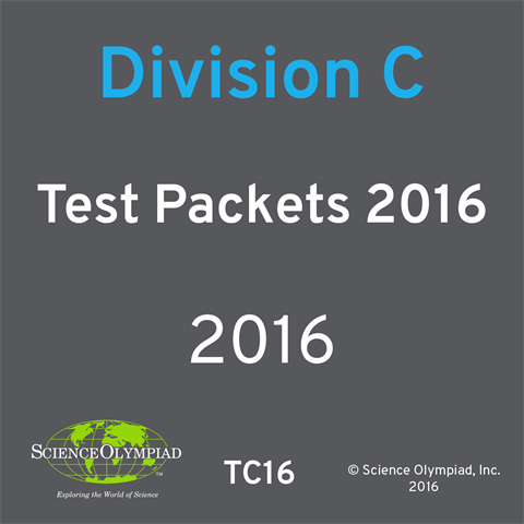 Test Packet 2016 - Division C