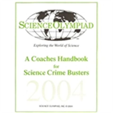 Science Crime Busters Manual