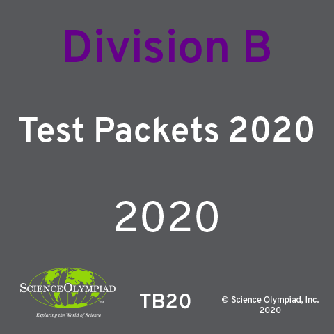 Test Packet 2020 Division B
