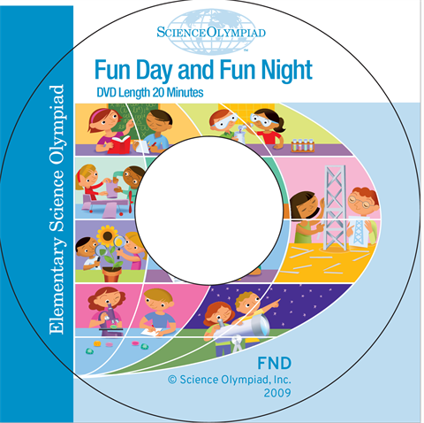 Elementary Science Olympiad Fun Night DVD